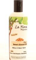 La Flora Organics Pure Sweet Almond Oil-Skin & Hair Care (100 Ml)