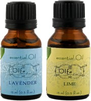 Olfa Lavender Essential Oil & Lime Essential Oil Combo (Pack Of 2) 15ml+15ml (30 Ml)