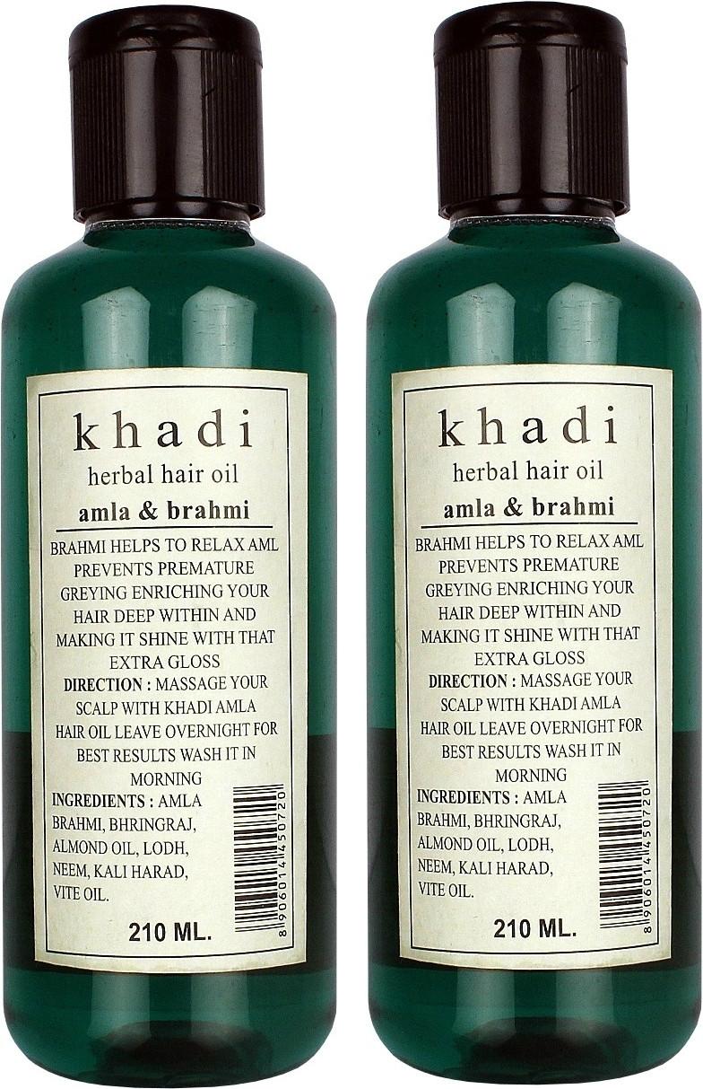 Brahmi Amla Khadi Amla Brahmi Oil Pack