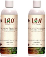 Lass Naturals Lass Naturals LASS MUSCLE RELAXANT MASSAGE OIL Combo ( Set Of 2 ) (200 Ml)