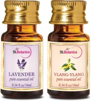 StBotanica Lavender + Ylang-Ylang Pure Essential Oil (10ml Each) (20 Ml)
