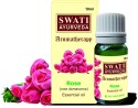 Swati Ayurveda Essential Oil Rose (Rose Damascena) - 10 Ml