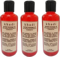 Khadi Massage Oil With Alovera Sandalwood Oil & Almond Oil (630 Ml)