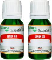 Natura Lemon (Citrus Limonum) Natural Essential Oil Pack Of 2 (20 Ml)