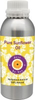 Deve Herbes Pure Sunflower Oil 630ml (Helianthus Annuus) 100% Natural Cold Pressed (630 Ml)