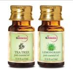 StBotanica Tea Tree Oil + Lemongrass Pure Essential Oil