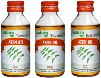 Natura Neem (Azadirachta Indica) Natural Essential Oil Pack Of 3 (300 Ml)