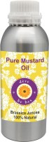 Deve Herbes Pure Mustard Oil 300ml (Brassica Juncea) 100% Natural Cold Pressed (300 Ml)