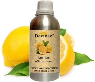 Devinez 500 2020, Lemon Essential Oil, 100% Pure, Natural & Undiluted