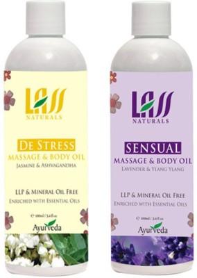 Lass Naturals Lass Naturals Relaxing Massage Combo