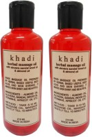 Khadi Massage Oil With Alovera Sandalwood Oil & Almond Oil (420 Ml)