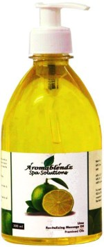 Aromablendz Lime Massage Oil