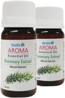 Healthvit Aroma Rosemary Extract Essential Oil For Hair Care(Pack Of 2) (60 Ml)