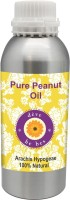 Deve Herbes Pure Peanut Oil 630ml (Arachis Hypogeae) 100% Natural Cold Pressed (630 Ml)