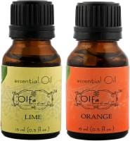 Olfa Lime Essential Oil & Orange Essential Oil Combo (Pack Of 2) 15ml+15ml (30 Ml)
