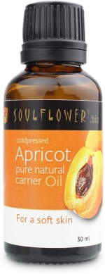 Soulflower Coldpressed Apricot Carrier Oil