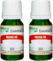Natura Orange (Citrus Sinensis) Natural Essential Oil Pack Of 2 (20 Ml)