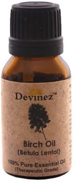 Devinez Birch Essential Oil, 100% Pure, Natural & Undiluted