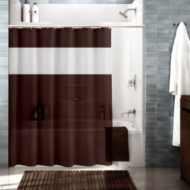 Cortina Polyester Multicolour Floral Ring Rod Shower Curtain