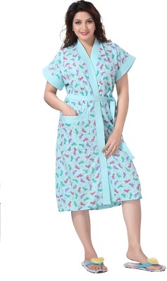Sand Dune 3424 Bath Robe Blue