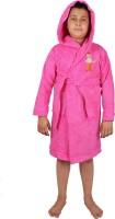 Trident Pink Free Size Bath Robe (Bath Robe, For: Baby Boys, Baby Girls, Pink) - BRBE6VTUHKYYTFYB