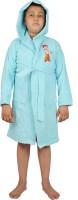 Trident Blue Free Size Bath Robe (Bath Robe, For: Baby Boys, Baby Girls, Blue)
