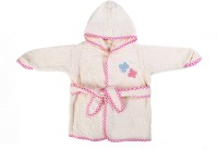 Baby Oodles White XS Bath Robe (1 Bath Robe, For: Baby Boys & Baby Girls, White)