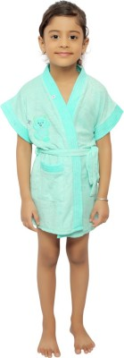 VeenaDdesigner Light Green, Green XL Bath Robe