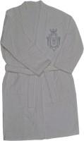 Ultra Snob White Free Size Bath Robe Bathrobe Only, For: Men & Women, White