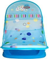 LuvLap Hippo Dippo Baby Bather Baby Bath Seat (Blue)
