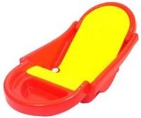 BKM&SONS Bath Tub Baby Bath Seat (Red, Yellow)