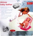 JIB Delux Baby Bather Baby Bath Seat - Blue, White