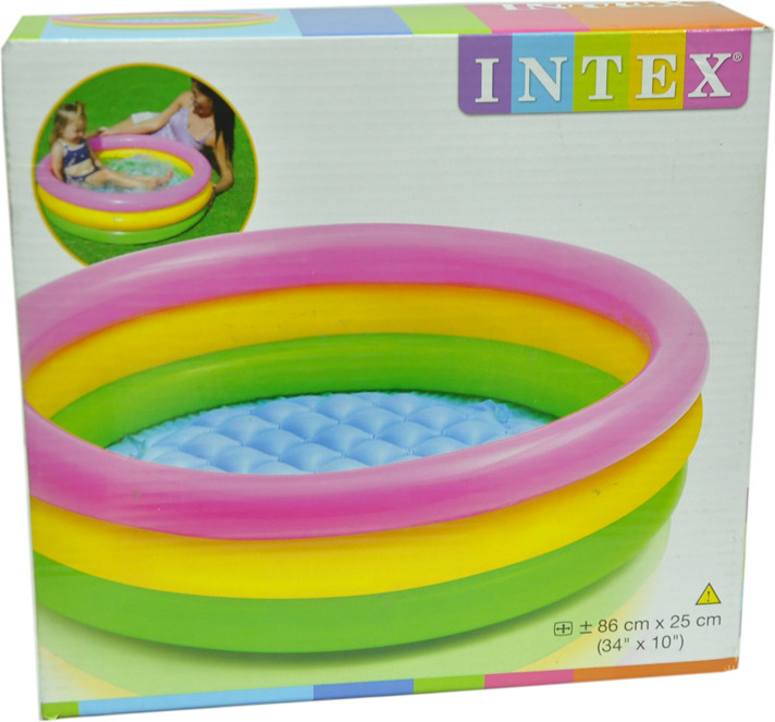 Intex Water Tub Inflatable Pool 5ft Diameter Baby Bath Seat Price In India Buy Intex Water Tub