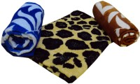 Elegance Multi Design Cotton Hand Towel Set Of 3 Hand Towel, Multicolor