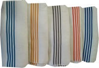 Welhouse Cotton Bath Towel Set Of 5 Bath Towel, White
