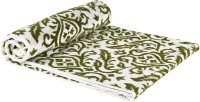 JCT Homes Cotton Bath Towel 1 Bath Towel, White, Green
