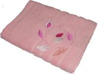 Gran Bath Towel Cotton Bath Towel (1 Bath Towel, Pink)