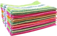 Xy Decor Cotton Hand Towel Set Of 8 Hand Towel, Multicolour