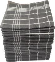 Welhouse Cotton Bath & Face Towel Set 24 Face Towel Set, Grey