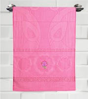 Fantasy Home Decor Nature Cotton Bath Towel Bath Towel, Pink
