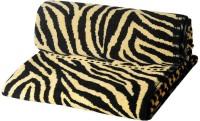 ShopSince Cotton Bath Towel ShopSince Leopard Print Bath Towels Set Of 2, Multicolor