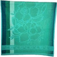 Amita Home Furnishing Floral Cotton Bath Towel 1 Bath Towel, Green