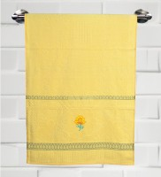 Fantasy Home Decor Nature Cotton Bath Towel Bath Towel, Yellow