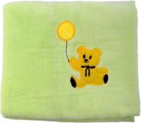 Belle Maison Fancy Cotton Baby Towel (Kids Bath Towel, Green) - BTWE7FGESH9DECBU