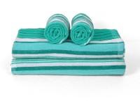 Cortina Cotton Bath & Hand Towel Set 2PC Hand Towel Set, 2PC Bath Towel Set, Light Green