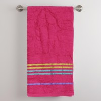 Portico New York Cotton Multi-purpose Towel Multi-purpose Towel, Maroon