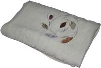 Gran Bath Towel Cotton Bath Towel (1 Bath Towel, White)