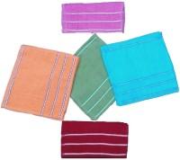 Mikado Face Towels Cotton Face Towel 10 Face Towels, 2 Pieces Of Each Colour, Multicolor