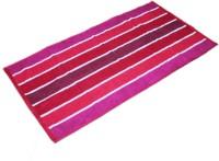 Aransa Cotton Baby Towel (1 Bath Towel, Red)