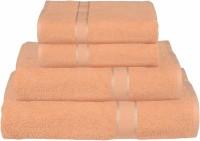 RR Textile House Cotton Bath, Hand & Face Towel Set 1, Ladies Towel 1, Bath Towel 2, Hand Towel, Beige